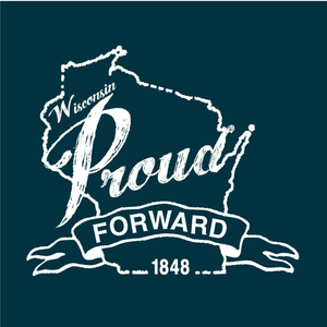 Wisconsin Proud, Navy, Unisex, T-shirt