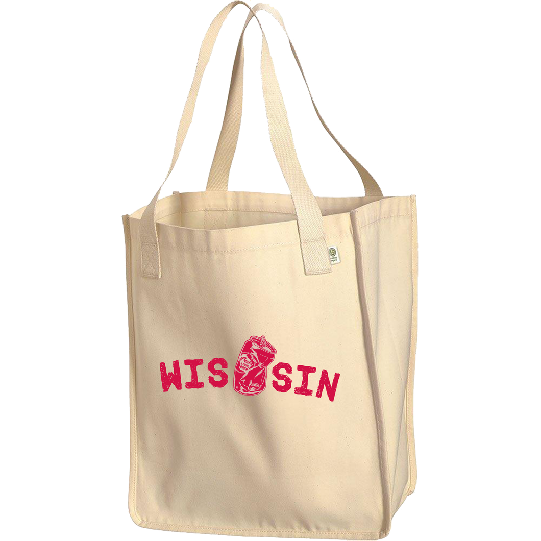 WIS[]SIN, Natural, Tote