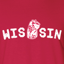 Load image into Gallery viewer, WIS[]SIN, Red, Unisex, T-shirt