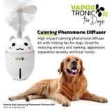 "PETLUV ""VAPOR-TRONIC"" CALMING PHEROMONE DIFFUSER FOR SCRATCHING, SPRAYING, MARKING AND FIGHTING, PET BEHAVIOR AND ANXIETY SUPPORT, GREAT FOR MULTIPLE DOG HOMES!"