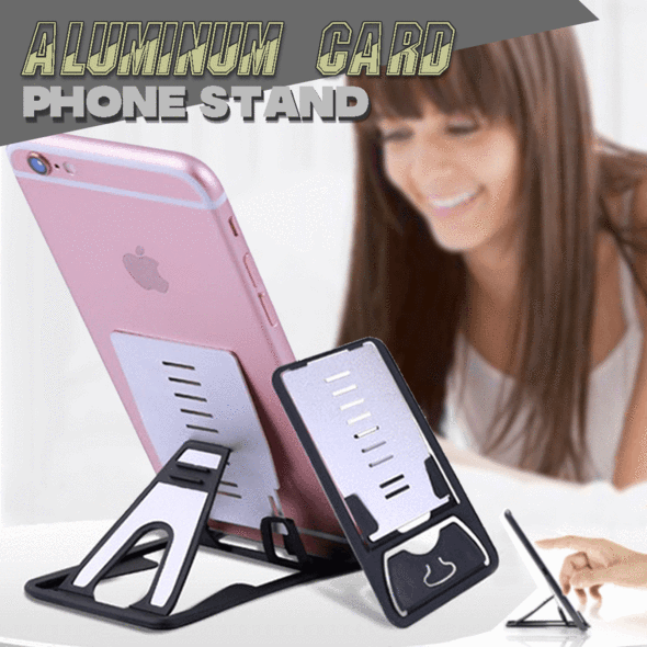 Aluminum Card Phone Stand