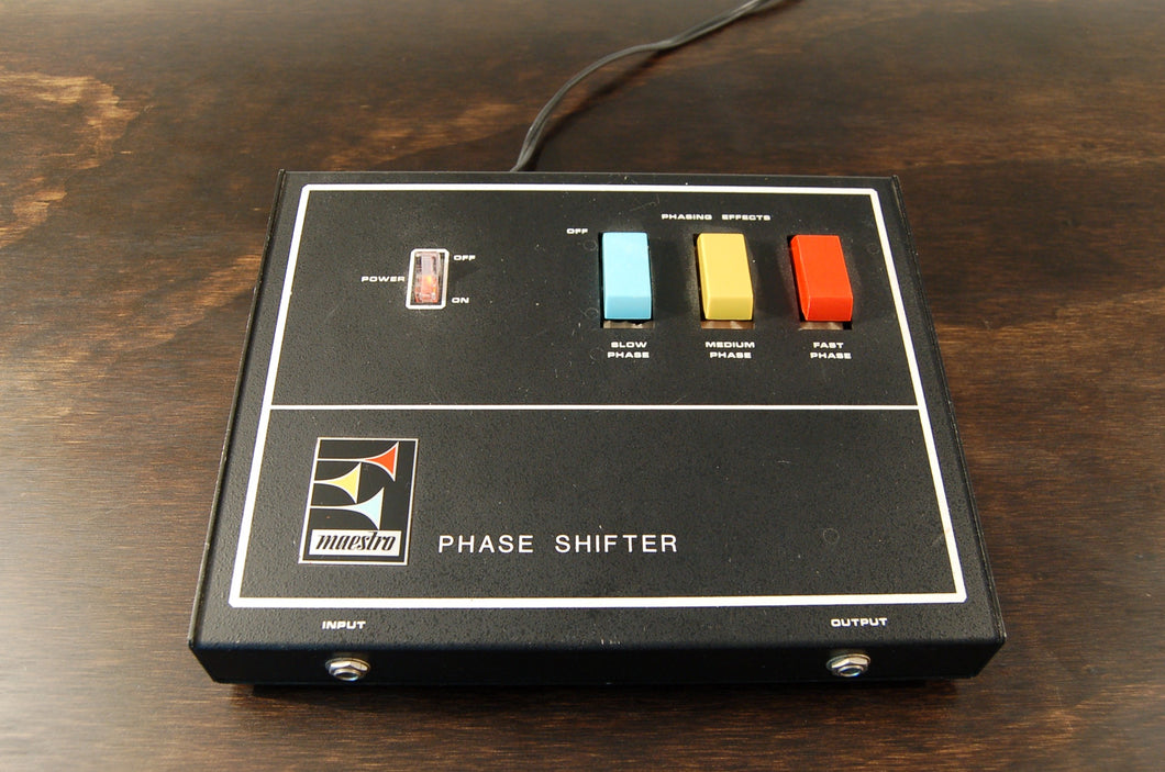 Maestro Phase Shifter - Weston Electric Arts