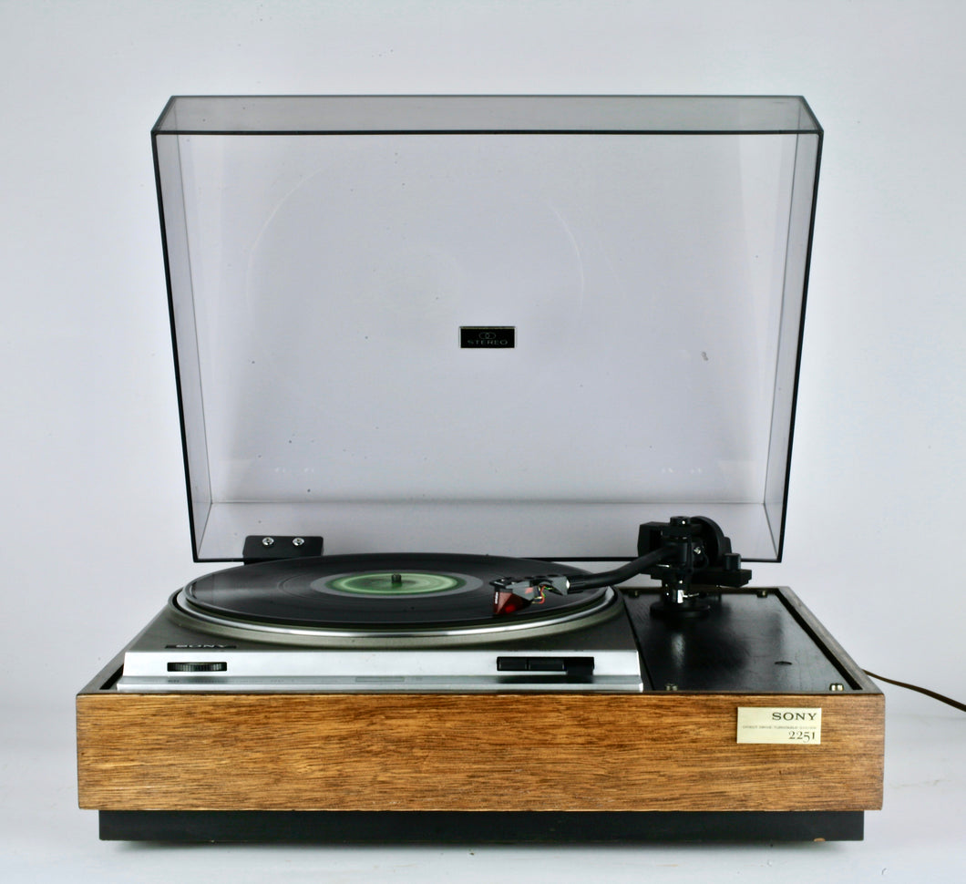 Sony PS-2251 with Sumiko MMT Tonearm - Weston Electric Arts