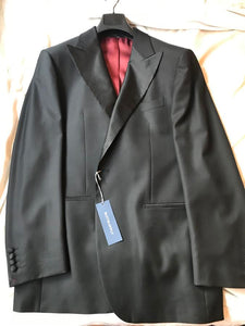 New with Tags SUITSUPPLY Lazio 100% Wool Tuxedo Jacket - Size 38R