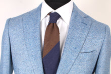 Load image into Gallery viewer, New Suitsupply Havana Light Blue Wool, Cashmere and Silk Blazer - Size 38R