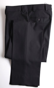 New Suitsupply SIENNA Black 100% Wool Trousers - Size 36R (32.3 Inches)