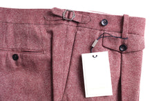 Load image into Gallery viewer, New Suitsupply BRENTWOOD Pink Wool and Cashmere Trousers - Size 46R (40.2 Inches)