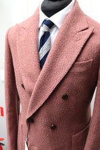 Load image into Gallery viewer, USED SUITSUPPLY LAVELLO Pink Wool/Cashmere DB Coat - Size 38R