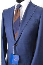 Load image into Gallery viewer, New Suitsupply JORT Mid Blue 100% Super 150s Wool Suit - Size 36R