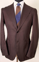 Load image into Gallery viewer, Used Suitsupply Havana Sartorial Chocolate Brown 100% Cotton Suit - Size 38R (Suitreview Wardrobe)