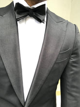 Load image into Gallery viewer, New with Tags SUITSUPPLY Lazio 100% Wool Tuxedo Jacket - Size 38R