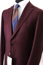 Load image into Gallery viewer, New Suitsupply Havana Burgundy Wool/Linen Blazer - Size 40R