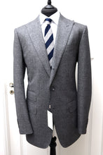 Load image into Gallery viewer, New W. Tags SUITSUPPLY Washington Gray Plain 100% Wool 120s Suit - Size 46L
