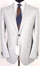 Load image into Gallery viewer, New Suitsupply La Spalla Light Gray 100% Wool Super 150s Suit - Size 40R