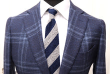 Load image into Gallery viewer, Used SUITSUPPLY HAVANA Blue Check 100% Wool Blazer - Size 38R
