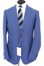 Load image into Gallery viewer, NWT Suitsupply Havana Blue Wool, Silk and Linen Houndstooth Jacket - Size 38R, 42R and 44R