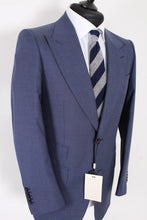 Load image into Gallery viewer, NWT Suitsupply Washington Wide Lapel Blue 100% Wool Suit - Size 40R and 42R
