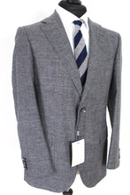 Load image into Gallery viewer, NWT Suitsupply Lazio Silver Gray Wool, Silk and Linen Suit - Size 42S