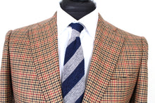 Load image into Gallery viewer, New Suitsupply Lazio Brown Houndstooth Wool and Cashmere Suit - Size 36S, 36R, 38S, 38R, 40S, 40R, 40L, 42S,  42L, 44S