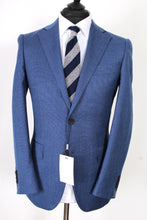 Load image into Gallery viewer, New Suitsupply Lazio  Blue Plain 100% Wool Suit - Size 36R, 38R, 40R and 44R (Low Price)
