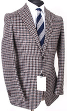 Load image into Gallery viewer, New Suitsupply Mid Brown Check 90% Wool Blazer - Size 36R