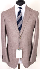 Load image into Gallery viewer, New Suitsupply Havana Brown Twill Weave Wool, Silk, Cashmere Blazer - Size 38R