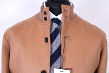Load image into Gallery viewer, New Suitsupply Camel Colored 100% Wool Bomber Jacket - Size L and XL