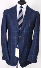Load image into Gallery viewer, New Suitsupply Havana Blue Windowpane 100% Wool Blazer - Size 42R