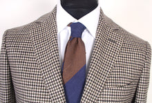 Load image into Gallery viewer, New Suitsupply Havana Belluno Brown Houndstooth Wool/Cashmere Suit - Size 40R