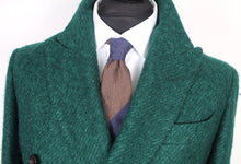 Load image into Gallery viewer, New Suitsupply Lavello Green Wool and Mohair DB Coat - Size 38R
