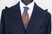 Load image into Gallery viewer, New Suitsupply Bleecker Navy Blue 62% Alpaca Coat - Size 38R and 40R