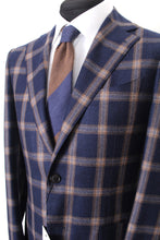 Load image into Gallery viewer, New Suitsupply JORT Navy Check 100% Wool Super 140s Blazer - Size 38R