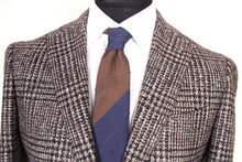 Load image into Gallery viewer, New Suitsupply Havana Brown Check Wool and Silk Blazer - Size 38R