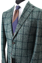 Load image into Gallery viewer, New Suitsupply Havana Green Check 80% Alpaca Blazer - Size 38R