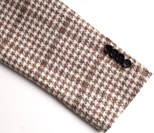 Load image into Gallery viewer, New Suitsupply Havana Brown Houndstooth Check 40% Alpaca Blazer - Size 38R
