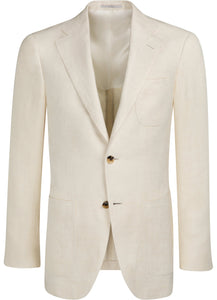 NWT Suitsupply Hudson Off White Jacket - Size 38R