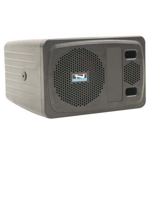 AN-100CMU2+ | Conference speaker monitor with a built-in dual wireless mic receiver