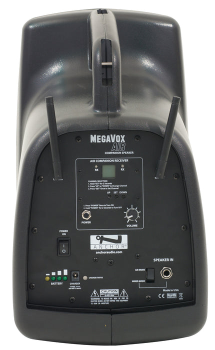 MEGA-DP4-AIR | MegaVox Deluxe AIR Package 4   *SAVE10 coupon eligible