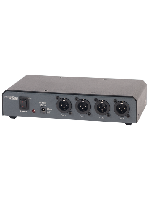 COM-40FC/C | PortaCom Four User Package with Cables
