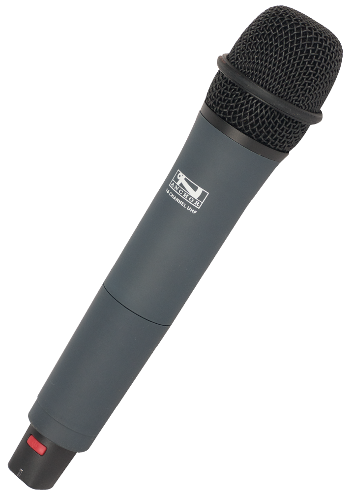 WH-8000 | Wireless handheld mic (540 - 570 MHz)
