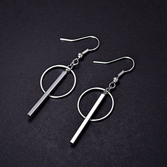 Sterling Silver Linked Earrings