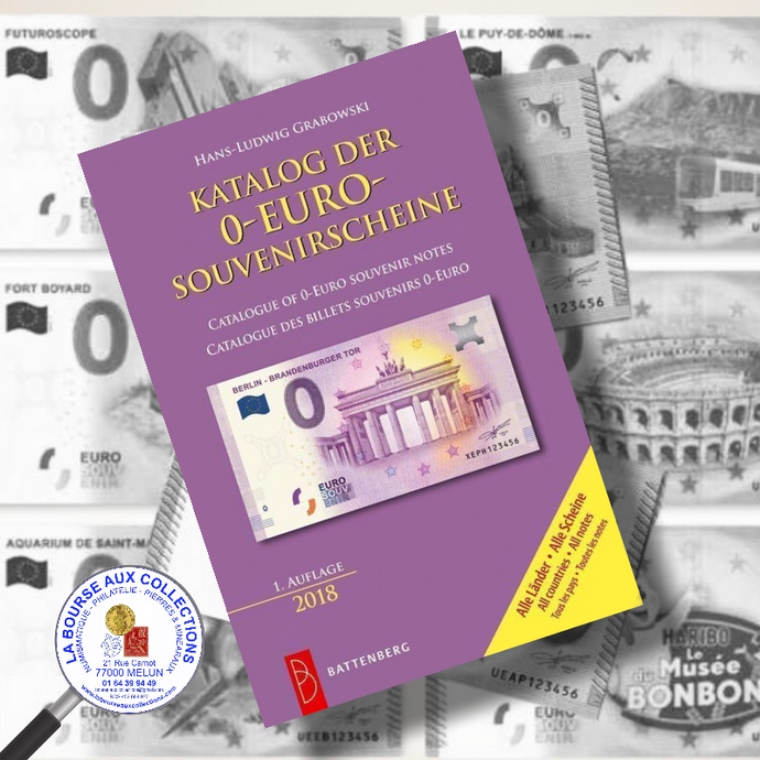 Catalogue de cotation billets Euro souvenir 2020 par Hans-Ludwig GRABOWSKI