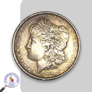 ETAS-UNIS - 1 Dollar type Morgan - 1900