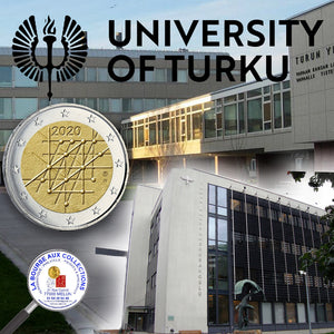 2 euros FINLANDE 2020 - 100 ans de l'Université de Turku / La Bourse aux Collections Numismatique Melun