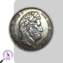 Charger l'image dans la galerie, LOUIS-PHILIPPE I (1830/1848) - 5 FRANCS 2nd type – 1846 A Paris