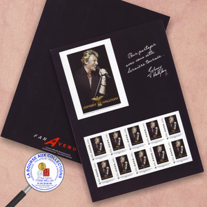 Collector JOHNNY HALLYDAY - 2009 - Démarrage du Tour 66