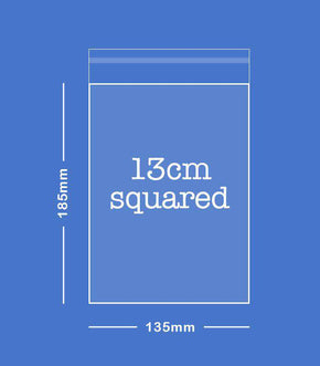 SAMPLE - 13cm Squared Envelope (135 x 185mm)
