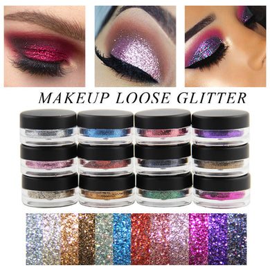 Lip Gloss Powder Palette and Glitter Lipstick Eye Shadow