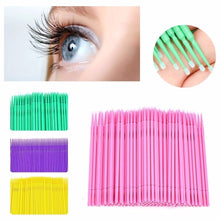 Load image into Gallery viewer, 100 Pcs Eyelash Brushes