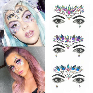 Temporary Face Stickers/Tattoos